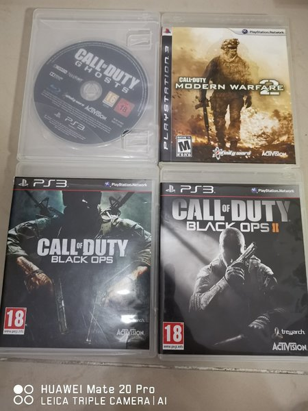 Used Call Of Duty PS3 Collection in Dubai, UAE