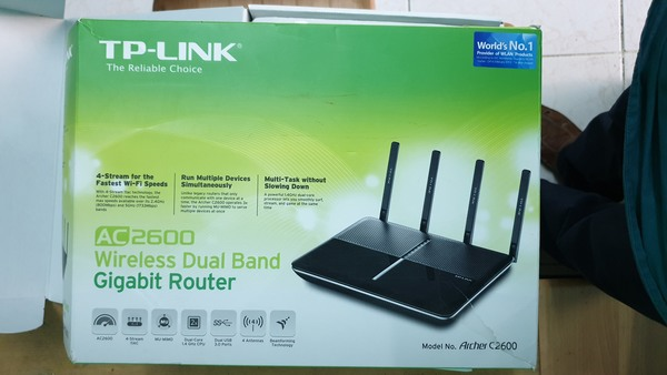 Used Tp Link AC2600 Duel Band Router in Dubai, UAE