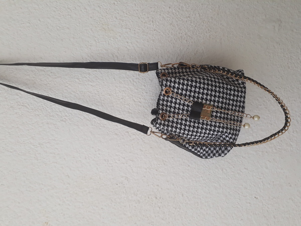 Used Stylish drawstring Bucket bag in Dubai, UAE