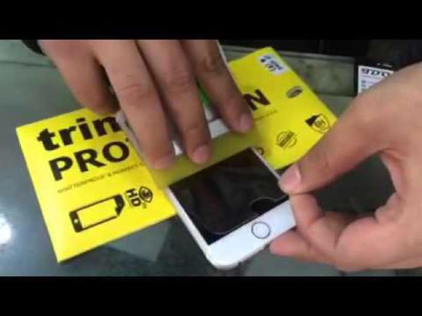 Used TRINK Impossible Glass For Iphone 7+ Or Iphone 6S+ in Dubai, UAE