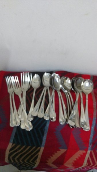 Used 3 Type of Spoon, Used But Good Condition in Dubai, UAE