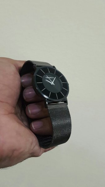 Used REBIRTH MeshSteel Thin Dial Unisex Watch in Dubai, UAE