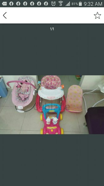 Used Baby items in Dubai, UAE