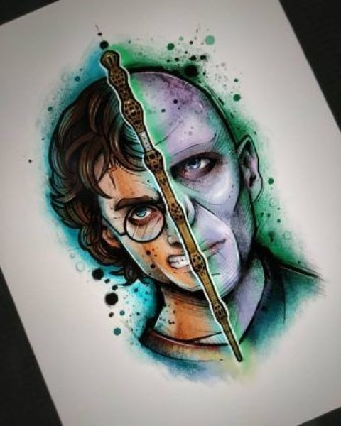 Used Drawings Harry Potter patmAN in Dubai, UAE