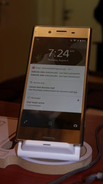 Used Xz premium SONY LIKE NEW WITH CHARGER in Dubai, UAE