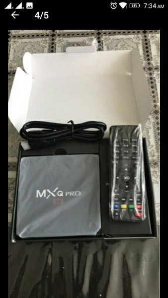 Used ANDROID 4K internet TV BOX🎁 Games/Apps in Dubai, UAE
