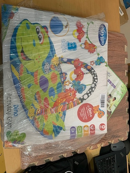 Used Dino activity gym toys in Dubai, UAE