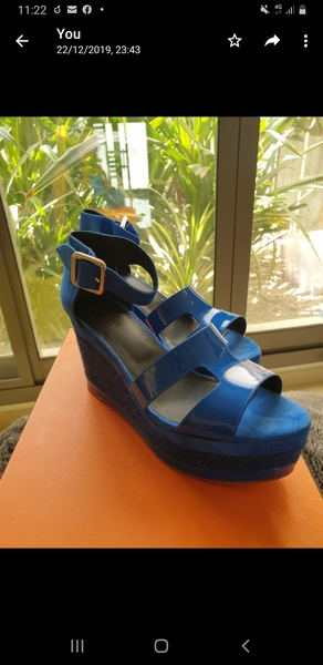 Used Hermes Ilana Sandals, brand new, 38 in Dubai, UAE