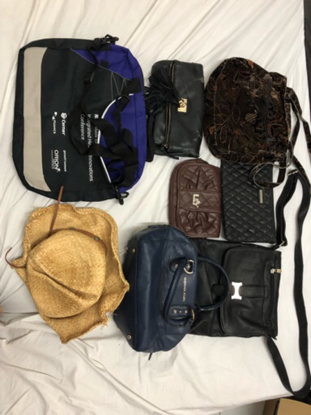 Used Preloved bags with signs of usage in Dubai, UAE
