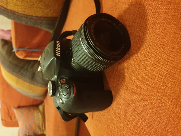 Used Nikon D3400 DSLR with bag and clean kit in Dubai, UAE