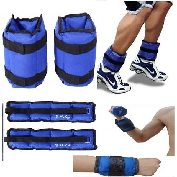 Used 1 x 1 adjustable ankle weights 2 pcs in Dubai, UAE