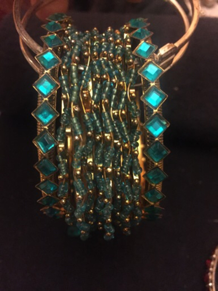 Used Bangles 2.6size new 10 pieces  in Dubai, UAE