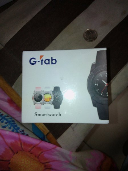 Used Gtab w300 smart watch red color in Dubai, UAE