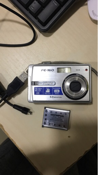 Used Camera Olympus charger missing in Dubai, UAE