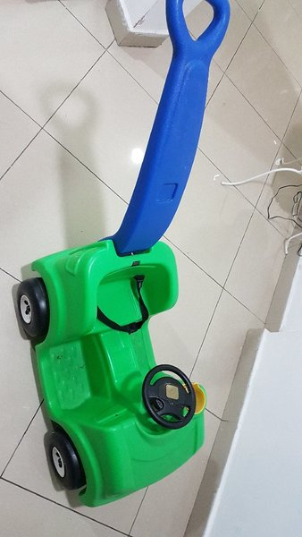 Used Baby Cart toy with seat belt in Dubai, UAE