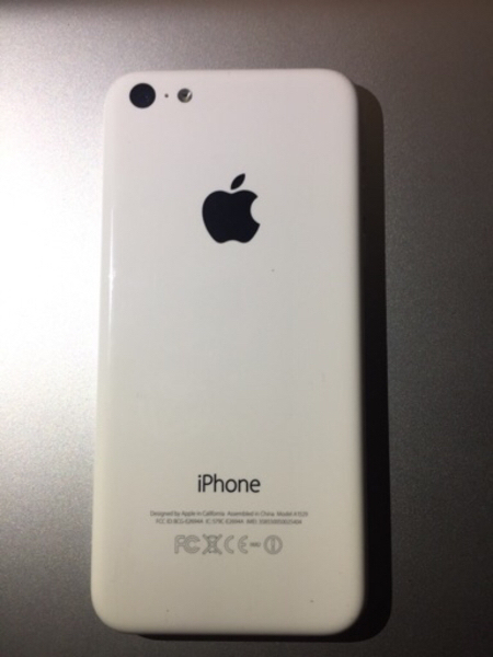 Used IPhone 5c 16 apple orginal # good condi in Dubai, UAE