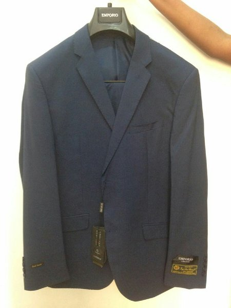 Used Branded Emporio Blue Suit in Dubai, UAE