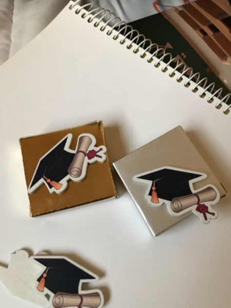 Used Graduation favors with or without box  in Dubai, UAE