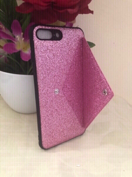 Used NEW iPhone 7/8 plus Wallet Case + + in Dubai, UAE