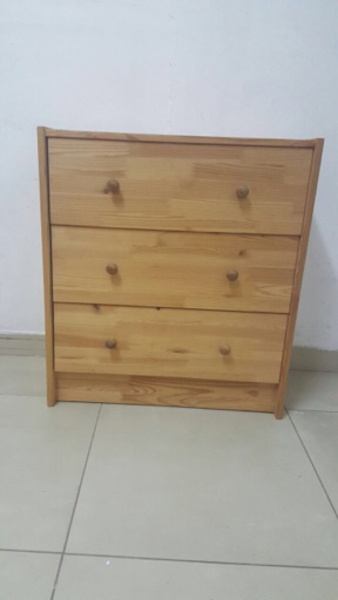 Used 3 drawer chest for urgent sale  in Dubai, UAE