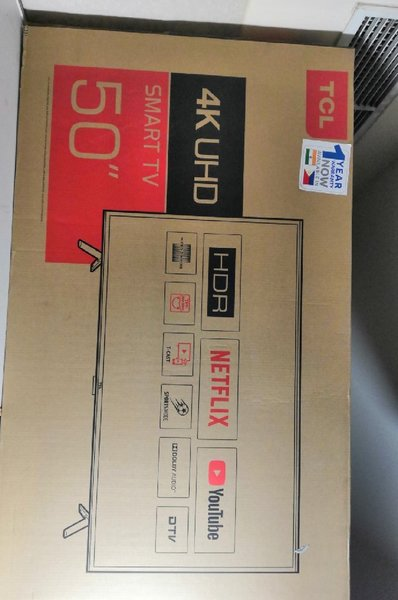 Used TCL 4k HDR smart TV 50 inches in Dubai, UAE