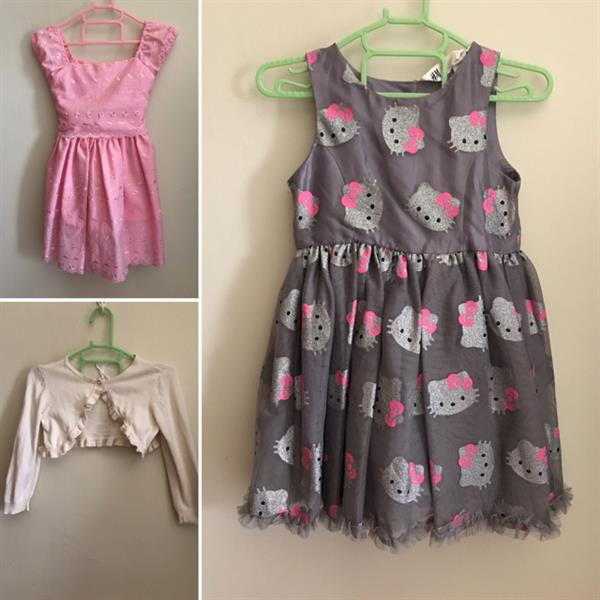 Used 3pcs Preloved Girl's Clothes in Dubai, UAE
