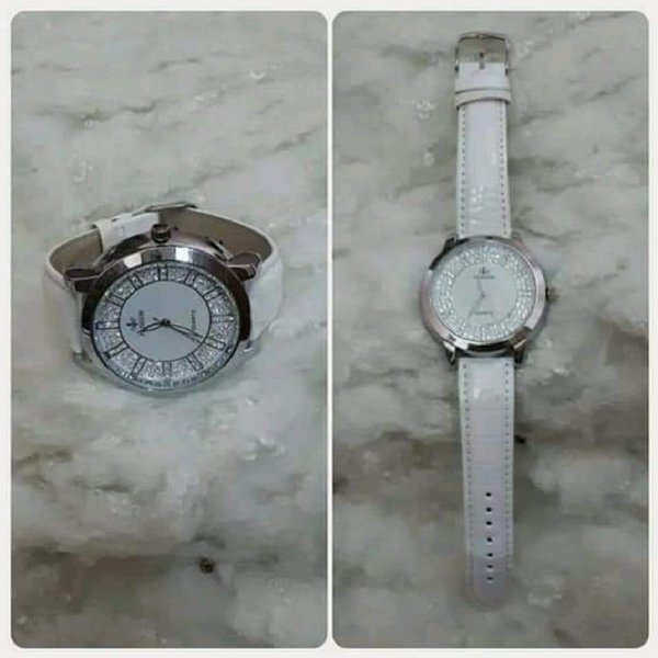 Used Watch silver with white color in Dubai, UAE
