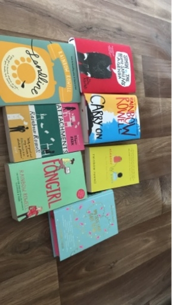 Used Rainbow rowell and more book collection in Dubai, UAE