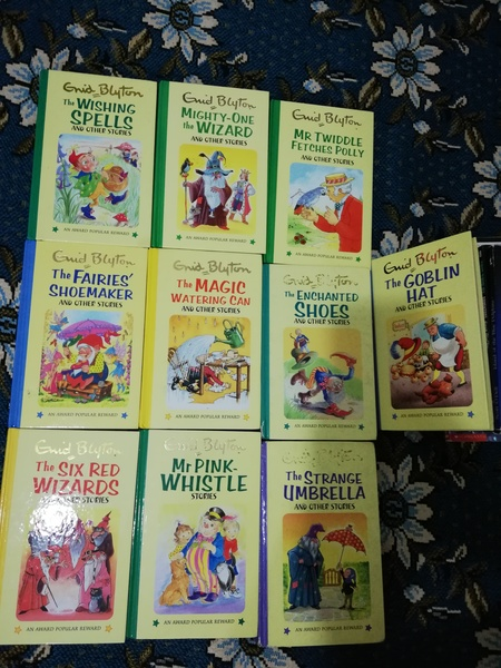 Used 10 pc Enid Blyton children books in Dubai, UAE