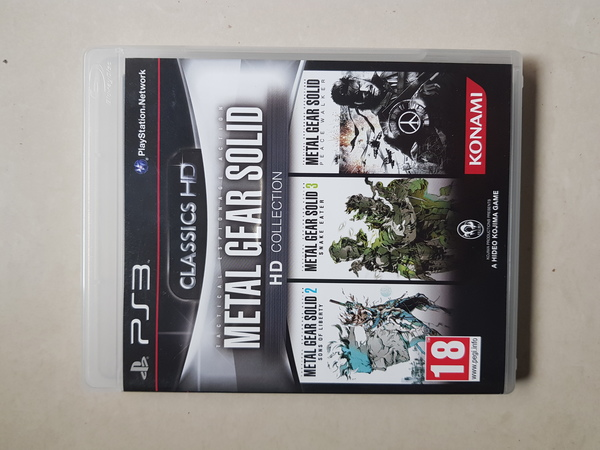 Used Metal Gear solid collection for PS3 in Dubai, UAE
