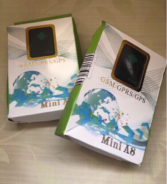 Used GPS Real  Time Tracker (MINI A8) 2 pcs. in Dubai, UAE