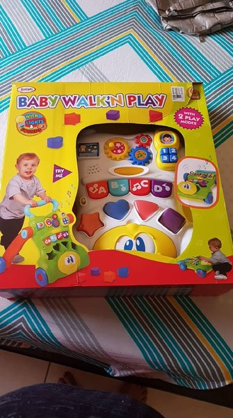 Used Baby walker cum activity toy in Dubai, UAE