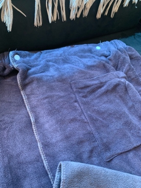 Used Wearable bathrobe blue in Dubai, UAE