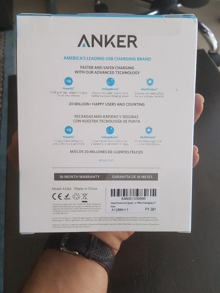 Used Anker 10000 3.0 quick charge in Dubai, UAE