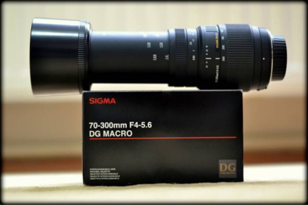 Used Sigma 70-300 Lens in Dubai, UAE