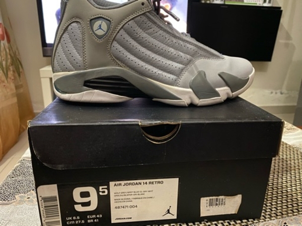 Used Jordan 14 wolf grey in Dubai, UAE