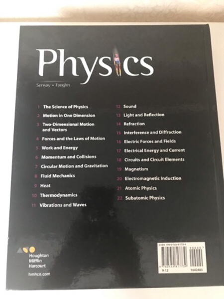 Used Physics Student Edition Book in Dubai, UAE