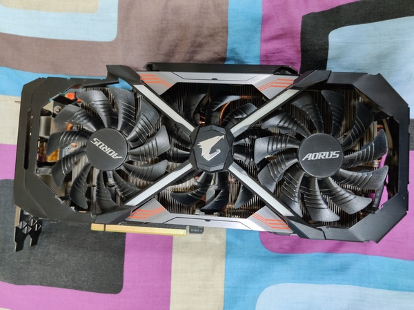Used Gigabyte 1080Ti Aorus 11GB in Dubai, UAE