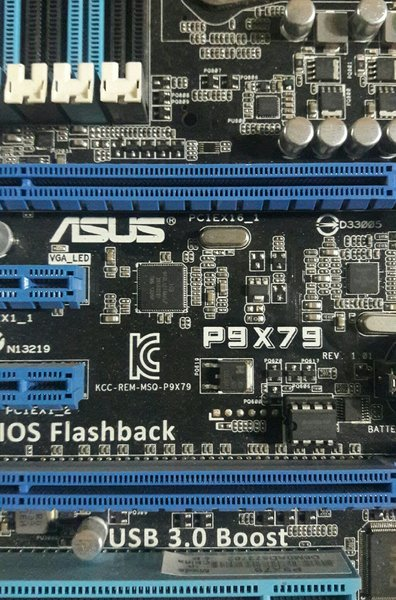 Used Asus Gaming M-Board with Ci7-3930k. in Dubai, UAE