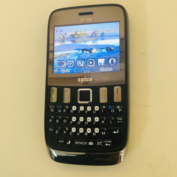 Used Spice Dual SIM phone QT-68 in Dubai, UAE