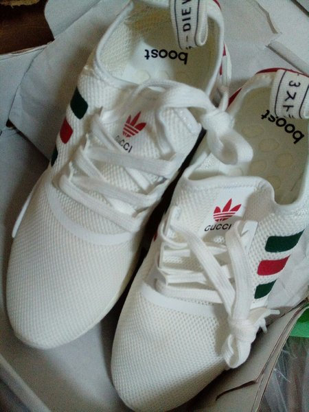 Used NMD Gucci White Size 41 - First Copy in Dubai, UAE