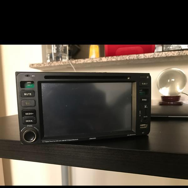 Used Used Dvd Touch Screen Car Player, Working Condition, Only 2 Buttons Missing But Its Working ,usb,usd,dvd,vcd, Touch Screen For Sale in Dubai, UAE