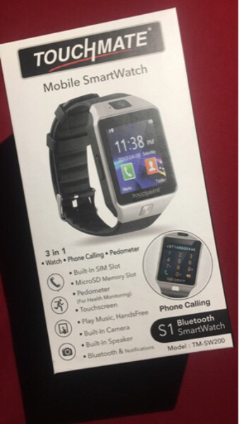 Used Touchmate mobile smartwatch in Dubai, UAE