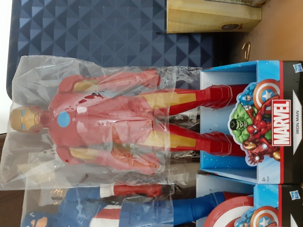 Used 20 inches tall Hashbro marvel action fig in Dubai, UAE