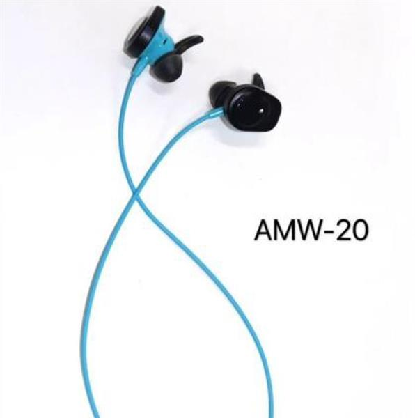 Wireless Bluetooth Earphones Sports Blue Brand New