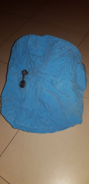 Used Blue Inflatable Travel Pillow in Dubai, UAE
