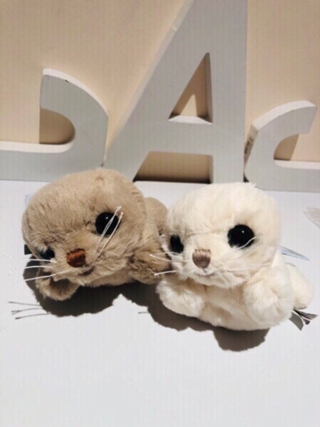 Used Hoover & Herb seals plush toys in Dubai, UAE