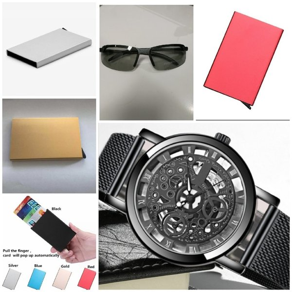 Used 3 anti theft wallets + watch + glasses in Dubai, UAE