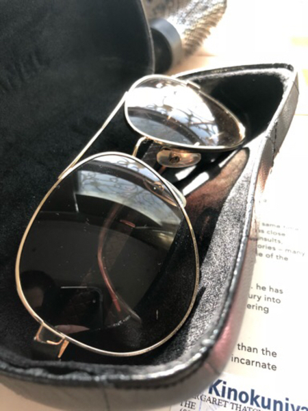 Used Channel sun glasses original price 3800 in Dubai, UAE