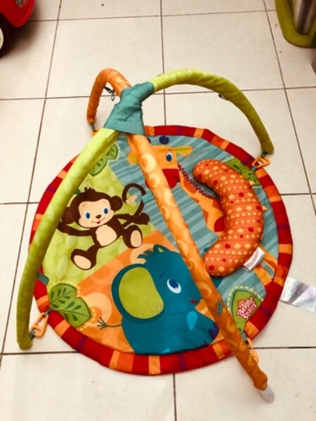 Used BRIGHT STARS PLAY GYM NEW WITH PILLOW in Dubai, UAE